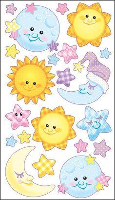 Sticko Classic Stickers - Twinkle Twinkle