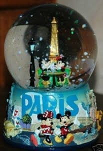 Disney Paris snowglobe