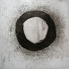 Gametes, etching, aquatint, 2012