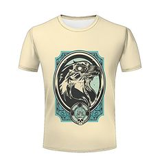 Maoda Men's Fashion Graphic Workhorse Print Casual T-Shirts 3d Pattern, Casual T Shirts, Branded T Shirts, Fashion Brands, Mens Fashion, Mens Tops, Stuff To Buy, Shopping, Moda Masculina