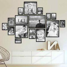 picture frame set modern black made of MDF - picture frame .- Bilderrahmen-Set Modern Schwarz aus MDF – Bilderrahmen Wand – Water picture frame set modern black made of MDF – picture frame wall – # Frame -