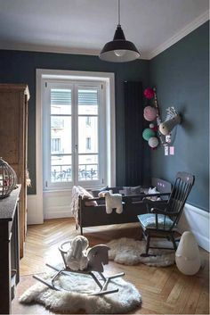 Enchanting and eclectic room | 10 Dramatically Dark Kids Rooms - Tinyme Blog