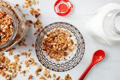 NRR Granola Hero Image / Photo by Chelsea Kyle, Food Styling by Anna Stockwell