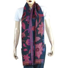 Wool Long Scarf Ladies Winter Clothes Handcrafted Gift gift-ideas beauty