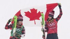Team Canada - On the day of the women's ski cross final at PyeongChang roommates Kelsey Serwa and Brittany Phelan were both up at 5 a. 2018 Winter Olympic Games, 2018 Winter Olympics, Winter Games, Canada, Olympic Team, Skiing, Best Friends, Soccer, Roommates