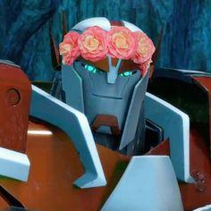 transformers prime | Tumblr Transformers Prime, Optimus Prime, Editing Pictures, Having A Crush, Ratchet, Fandoms, Flower Crowns, Fun Stuff, Cute