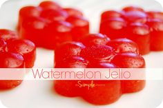 a simple real food recipe :: watermelon jello by theSIMPLEmoms, via Flickr