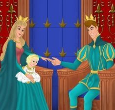 disney princess families | Princess Aurora and Prince Philip - Disney Couples Photo (6059550 ...