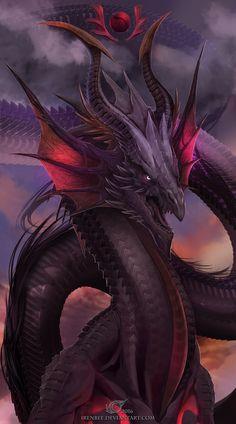 Dragon Card 1 by IrenBee. on Dragon Card 1 by IrenBee.deviantar… on Dragon Card 1 by IrenBee. Mythical Creatures Art, Mythological Creatures, Magical Creatures, Fantasy Beasts, Fantasy Art, Cool Dragons, Dragon's Lair, Beautiful Dragon, Dragon Artwork