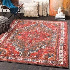 Shop this surya patina bright red / charcoal burnt orange blush navy butter medium gray rectangular area rug from our top selling Surya area rugs. LuxeDecor is your premier online showroom for rugs and high-end home decor. Orange Blush, Burnt Orange, Oriental, Yellow Rug, Traditional Area Rugs, Carpet Stains, Rug Cleaning, Fashion Room, Outdoor Area Rugs