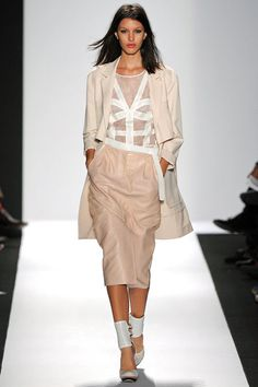 BCBG Max Azria. My favorite look from their SS 2013 RTW collection, which was overall disappointing since I'm usually their aesthetic.