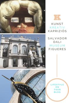 An der Costa Brava muss ein Besuch im Salvador Dali Museum in Figueres unbedingt ins Programm. Bilder, Skulpturen und 3D-Inszenierungen machen die Tour durch das Museum kurzweilig. Dali war seiner Zeit weit voraus. #costabrava #figueres #dali #museum #kunst Salvador Dali Museum, Camping, Strand, Tours, 3d, Movies, Movie Posters, Kunst, Sculptures