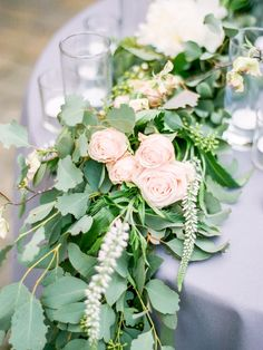 Organic floral runner with roses for this Sonoma wedding sweetheart table French Chic, French Country, Willamette Valley, Fine Art Wedding Photography, Sweetheart Table, Industrial Wedding, Portland Oregon, Lush, Wedding Inspiration