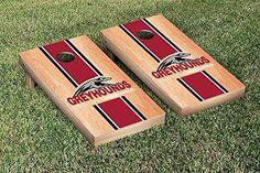 University of Indianapolis Greyhounds Cornhole Game Set Hardcourt Stripe Version ** Want additional info? Click on the image.