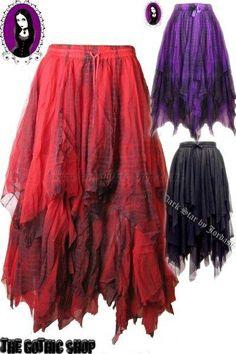I found 'Fine Mesh Gothic Hippie Tie Die Skirts' on Wish, check it out!