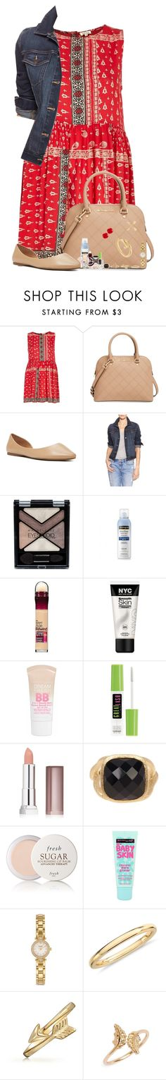 """""""Don't Wanna Let You Down, But I Am Hell Bound"""" by nessiecullen2286 ❤ liked on Polyvore featuring River Island, MICHAEL Michael Kors, Forever 21, Gap, Maybelline, Neutrogena, Rivka Friedman, Fresh, Kate Spade and Blue Nile"""