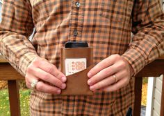oh, sweet joy!: ((handmade monday)) leather wallet DIY for the fellas
