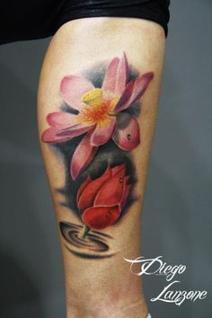 16 lotus tattoo