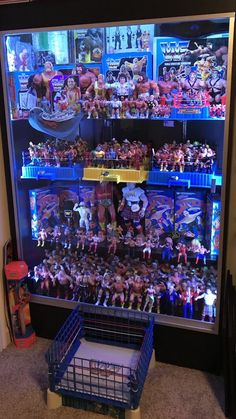 Great Pic from Wrestling Posters, Wrestling Wwe, Wrestling Costumes, Wwf Superstars, Wrestling Superstars, Wwe Action Figures, Custom Action Figures, Figuras Wwe, Toy Display