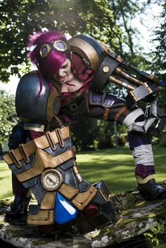 Vi Cosplay from League of Legends