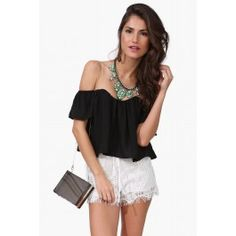 Chiquita Off The Shoulder Top, Necessary Clothing, $27