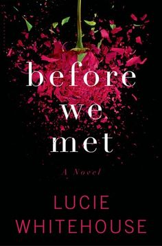 """""""Before we met"""" by Lucie Whitehouse  Expected publication: January 21st 2014 by Bloomsbury USA"""