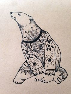 polar bear tattoo - Szukaj w Google More