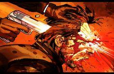 Big Daddy Death Scene (Kick-Ass) (2008) - John Romita, Jr.