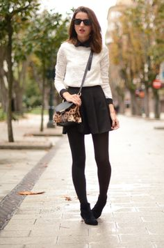 » black & white with leopard touch LovelyPepa