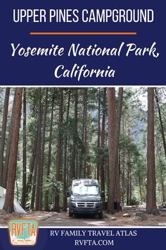Upper Pines Campground in Yosemite National Park, California - Camping 2019 Camping In England, Camping In Ohio, Yosemite Camping, California Camping, Rv Camping, Camping Store, California California, Luxury Camping, Camping Trailers