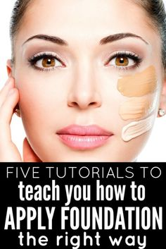 From the top 10 foundations, to 10 different foundation application techniques, to 3 fantastic foundation how-tos from makeup artists I love, this collection of tutorials will teach you how to apply foundation like a pro in no time!
