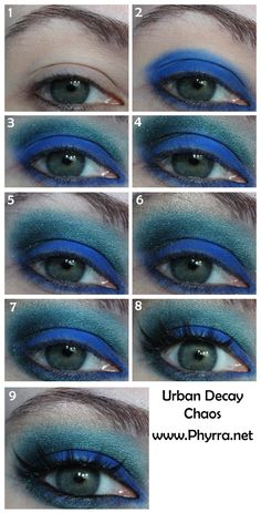 Urban Decay Vice Palette Tutorial with Chaos. Click through to see.