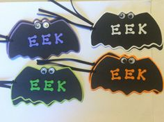 Halloween Gift Tags  Googly Eyes Set of 8 Hang Tags by PinkJewel, $5.00