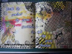 Art journal (kleurboek) zentangle 1c