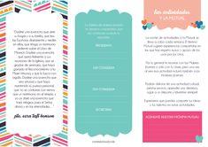 Éste folleto servirá para darle la bienvenida a las nuevas Mujeres Jóvenes, demostrarles su amor e introducirlas en este nuevo y hermoso mundo!