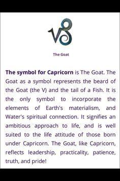 Symbol for Capricorn Zodiac Capricorn, Capricorn Symbol, All About Capricorn, Capricorn And Taurus, Capricorn Tattoo, Capricorn Quotes, Zodiac Signs Capricorn, Zodiac Quotes, Astrology Signs