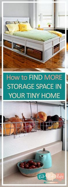 How to Find MORE Storage Space In Your Tiny Home