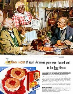 """The flavor secret..."" for Aunt Jemima • Haddon Sundblom, 1955"