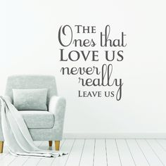 Harry Potter Wall Decal Quote Wall Sticker Quote Saying Wall Art Sticker Harry Potter Decor Quote Book Quote - The ones that love us by FixateDesigns on Etsy