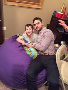 Payton and Joey 2015 Christmas party at Courtney and Mikes