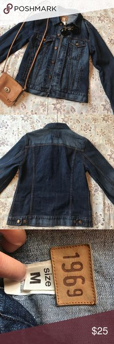 """GAP"" 1969 denim jacket Denim jacket in great condition. Heavy construction...good quality denim. Jackets & Coats Jean Jackets"