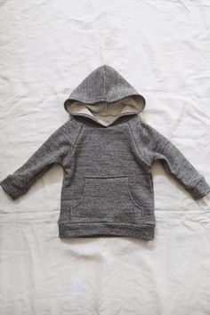 the boy -- raglan top, kangaroo pocket, hood