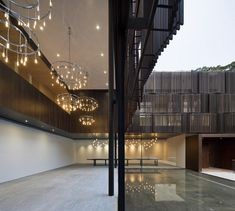 Exterior/interior overflow of Cluny House in Singapore by Neri & Hu Design
