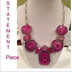 Statement necklace earring bracelet set Three piece bundle Jewelry Necklaces