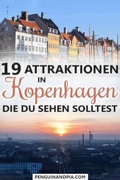Kopenhagen Sehenswürdigkeiten: Unsere 19 Lieblings-Attraktionen There is a lot to discover in Copenhagen, Denmark. We show you 19 attractions and sights that you shouldn't miss. From Nyhavn harbor Europe Destinations, Copenhagen Attractions, Best Beaches In Europe, Travel Itinerary Template, Denmark Travel, Les Continents, Reisen In Europa, Backpacking Europe, Nightlife Travel