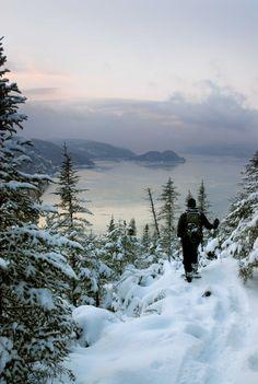 Parc national du Fjord-du-Saguenay : Vacances au Saguenay—Lac-Saint-Jean Lac Saint Jean, Les Fjords, Beautiful Winter Scenes, Voyager Loin, Canada, Parc National, Winter Beauty, Quebec City, Parcs