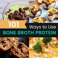 Bone broth protein recipes - Dr. Axe
