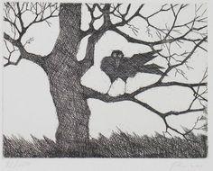 paul flora lithographien Illustrator, Flora, Moose Art, Birds, Artists, Architecture, Drawings, Animals, Inspiration