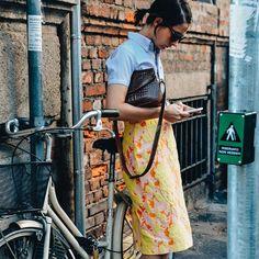 Michela Meni in Miu Miu skirt Find Picture, Ss16, Summer Looks, Miu Miu, Instagram Posts, Skirt, Happy, Summer Fashions, Summer Outfits