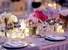 Risultati immagini per decorazioni tavoli per matrimonio